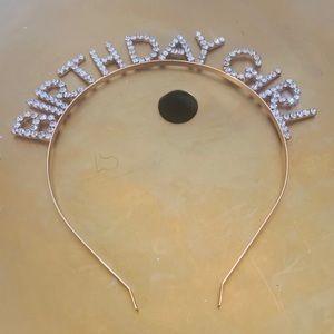 Accessories - Gold Birthday Crown
